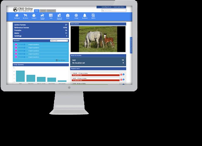 CRIO ONLINE | Equine & Barn Management Software